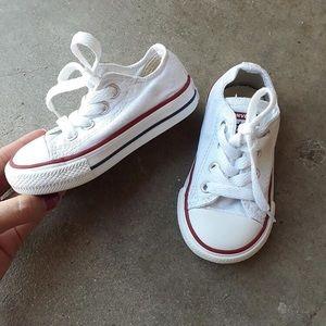 White Converse 5
